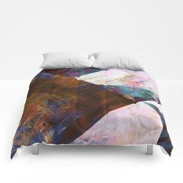 Painted Geometric Comforters