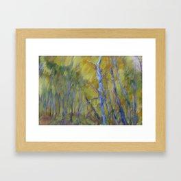 Blue Grove Framed Art Print