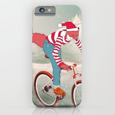 rushing home for christmas iPhone 6s Slim Case