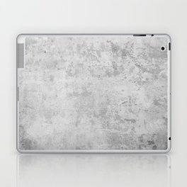 concrete wall vintage grey background,  wall texture * Laptop & iPad Skin