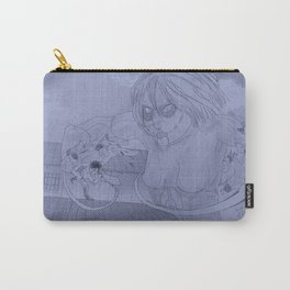 Showdown (Greyscale) Carry-All Pouch