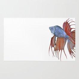 The Orange Fish Rug