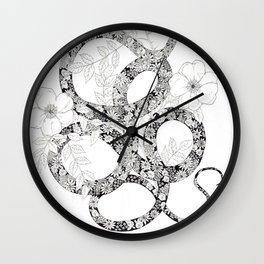 La Serpiente Wall Clock