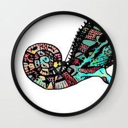 chameleon power Wall Clock