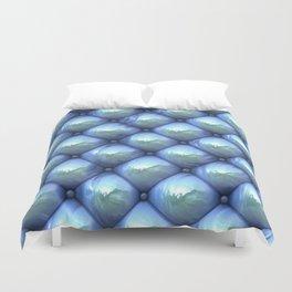 Silky reflection, blue Duvet Cover