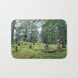 Cemetery in Alaska Bath Mat
