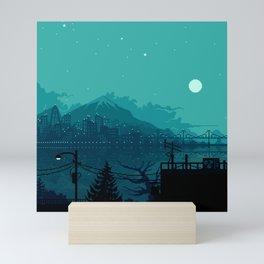 Dark Harbor Mini Art Print