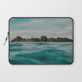 Shipwrecked Ocean Blues Laptop Sleeve