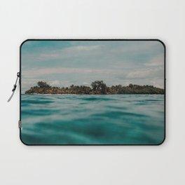 Shipwrecked Ocean Blues Laptop Sleeve