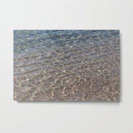 Beach Bliss Metal Print