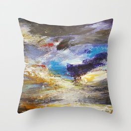 Cloudy Skies number 3 Throw Pillow