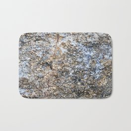 The surface of the granite stone. Bath Mat