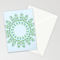 Country floral 4 Stationery Cards
