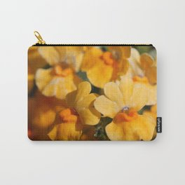 Nemesia Strumosa named Angelart Pear Carry-All Pouch
