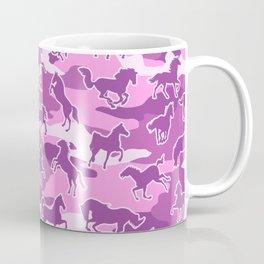 Horse Camo PINK Coffee Mug