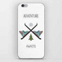 Adventure Awaits - Ski iPhone Skin