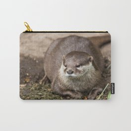 Sunning Otter Carry-All Pouch