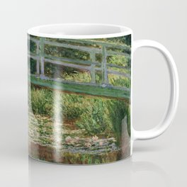 """Claude Monet """"The Japanese Footbridge and the Water Lily Pool, Giverny"""" Coffee Mug"""
