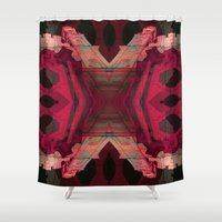 baroque Shower Curtains featuring BAROQUE by Mike Maike