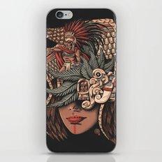 Aztec Eagle Warrior iPhone Skin