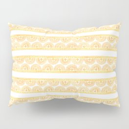 Gold Lace Pillow Sham