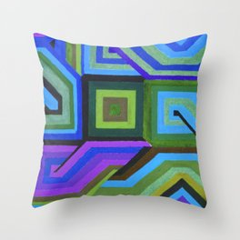Love and Logic Colour Variation Throw Pillow