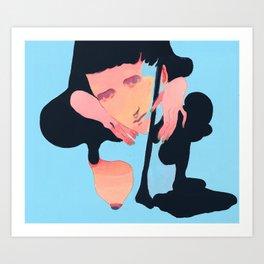 SELF SOOTHE Art Print