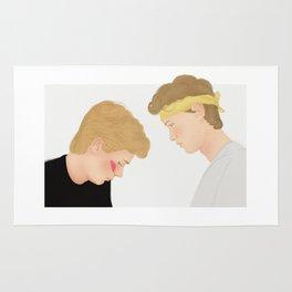 Skam, Isak and Even | Evak Illustration Rug