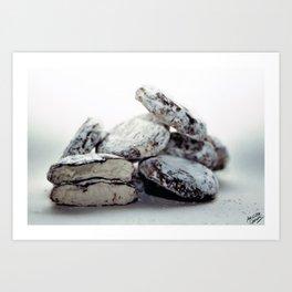 Zoete Zonde - Sneeuwballen Art Print
