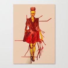 Models Ink 12 Canvas Print