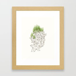 Geo'd Framed Art Print