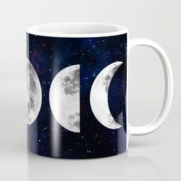 Phases of the Moon Galaxy Coffee Mug