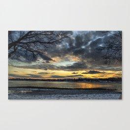 Sunset on the Boulevard Canvas Print