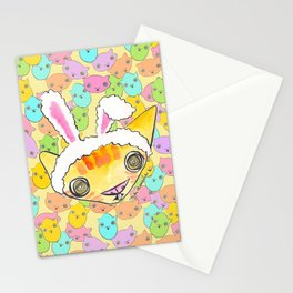 """""""Oro?"""" Easter Bunny Stationery Cards"""
