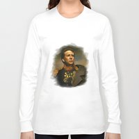 cage Long Sleeve T-shirts featuring Nicolas Cage - replaceface by replaceface