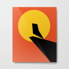 Minimalist Movie Poster Metal Print