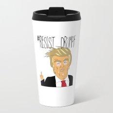 #Resist Drumpf Travel Mug