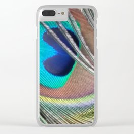 Lonesome Feather Clear iPhone Case