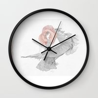 spanish Wall Clocks featuring Spanish Dancer by küçükbakkal