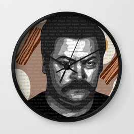 Ron Swanson quotes Wall Clock