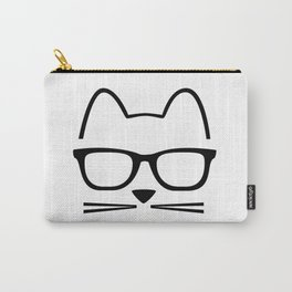 Cat Nerd Carry-All Pouch