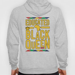 Educated Black Queen Hoody