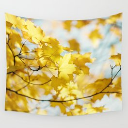 Gold in the Sky Wall Tapestry