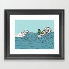 Surf Series   Roundhouse Framed Art Print