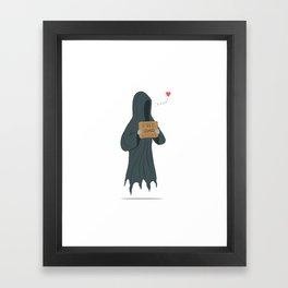 Dementor's Kiss Framed Art Print