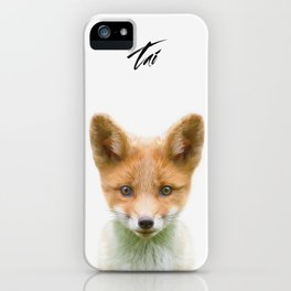 Baby Fox iPhone Case