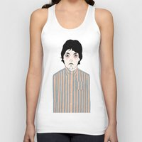 stripes Tank Tops featuring Stripes by Le Butthead