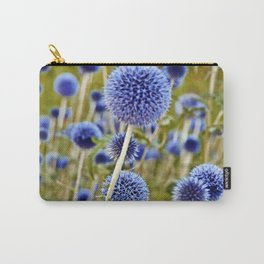 BLUE WILD THISTLE Carry-All Pouch