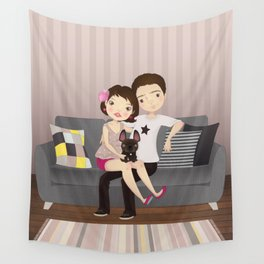 Little family Wall Tapestry