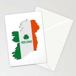 Ireland map Stationery Cards